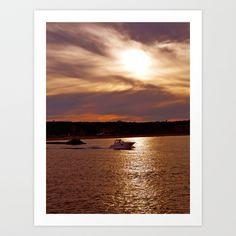 Purple & Pink Art Print by CR.prints - $16.00