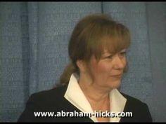 Abraham: THE LAW OF ATTRACTION - Part 1 of 5 - Esther & Jerry Hicks (Ultiliser cc pour sous-titre et choisissez francais comme langue.  Utiliser 'setting' pour la grosseur des lettres sur l'écran)