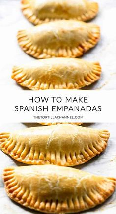 Spanish Empanadas are Empanadillas de Bonito - The Tortilla Channel - - Looking for these amazing Spanish empanadas with tuna? Try these empanadillas de bonito a great tapas recipe that you can eat for lunch or as a tapa. Tapas Recipes, Mexican Food Recipes, Appetizer Recipes, Cooking Recipes, Italian Recipes, Food Recipes Snacks, Spanish Food Recipes, Authentic Spanish Recipes, Healthy Recipes