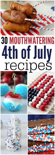 Check out the best 4th of July Recipes. Everyone will love these 4th of July Menu Ideas. There is something for everyone to enjoy.