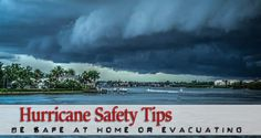Hurricane safety tips useful wherever you stay when a ravaging storm hits. What should a prepper do in times of catastrophic calamities such as a hurricane? Urban Survival, Survival Guide, Survival Gear, Survival Skills, Zombies Survival, Camping Survival, Home Security Tips, Safety And Security, Baby Safety