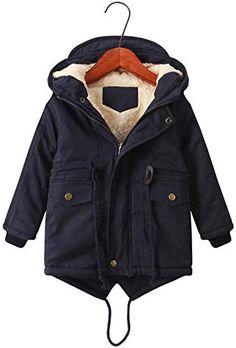 Kids Boys Fleece Jacket Boys Winter Jacket Coat Clothes XS-XL 6 COLORS!