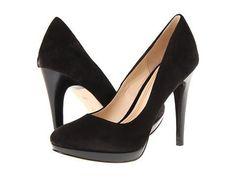 Cole Haan Chelsea High Pump High Heels - Black Suede