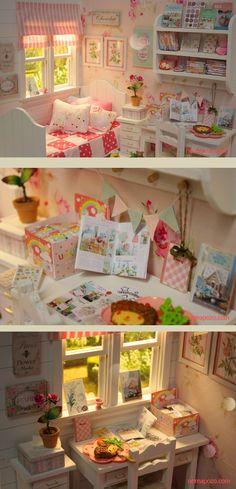 Nerea Pozo Art: ♥ Custom Handmade Diorama SUMMER CANDY ♥