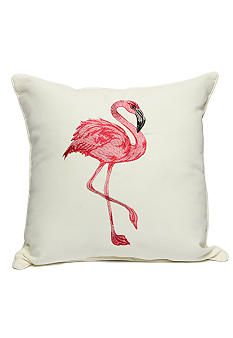 Home Fashion Int'l Flamingo Decorative Pillow
