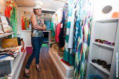 Gypsy Mobile Boutique Owner, Bridgette Maldonado at Concerts in the Park, Sacramento Mobile Boutique, Mobile Shop, Botique Clothing, Caravan Shop, Thift Store, Camper Store, Retail Interior Design, Store Layout, Pop Up Shops