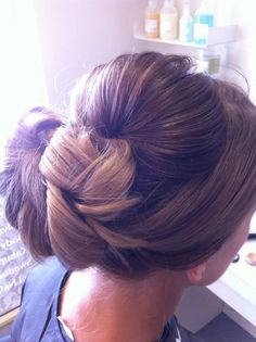 Elegant twist up do for a formal occasion x