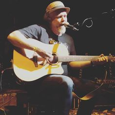 Many thanks to everyone who came to the gig on Saturday night. Thanks to @cheerscz for inviting me to play and thank you all for making it a great gig! .  . . . . #dicksavage #livemusic #livelooping #gig #concert #divadlopodlampou #acousticguitar #acoustic #singersongwriter #onstage #halloween #party #coolhat #hat