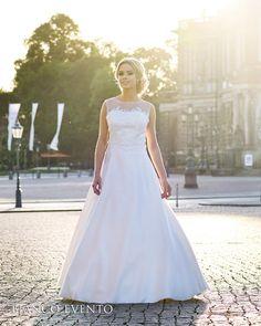 Marry Me, Rose, Wedding Dresses, Euro, Satin, Fashion, Princess Bride Dress, Lace Sleeves, Wedding Groom