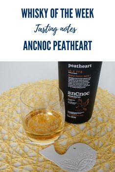 Review and tasting notes for the anCnoc Peatheart Single Malt whisky (Batch 001) Highland Whisky, Single Malt Whisky, Scottish Highlands, Distillery, Cigar, Whiskey, Scotland, Notes, Whisky