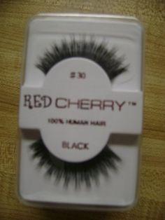 b885d09ba20 Amazon.com : Red Cherry False Eyelashes #30 (Pack of 6) : Fake Eyelashes  And Adhesives : Beauty
