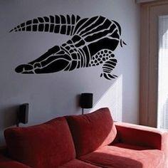 Crocodile Wall Decal