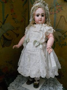 ~~~ On HOLD for S. / Wonderful French Bisque BeBe Jumeau ~~~ from whendreamscometrue on Ruby Lane