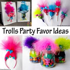 Trolls Party Favor Ideas