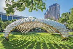 Grid Shell in the Park - The Architect's Newspaper: