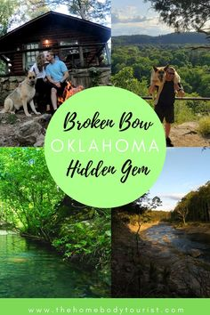 The PERFECT hidden gem. Explore Beaver's Bend State Park in Broken Bow, Oklahoma with your dog! Check out the CUTEST (and affordable) cabin, the best hikes, and other tips! The perfect way to social distance with your dog! Beavers Bend State Park, State Parks, Beavers Bend Oklahoma, Weekend Trips, Weekend Getaways, Places To Travel, Places To Go, Travel Destinations, Oklahoma Attractions