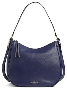 Shop Now - >  https://api.shopstyle.com/action/apiVisitRetailer?id=629916367&pid=uid6996-25233114-59 Kate Spade New York Cobble Hill Mylie Leather Hobo - Blue  ...
