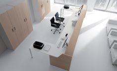 Reception accoglienti e funzionali per l'arredamento dell'ufficio