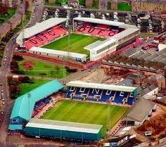 The home stadiums of Scottish Premiership teams Dundee FC & Dundee United Liverpool Stadium, Soccer Stadium, Sport Football, Football Cards, Dundee Fc, Dundee United, English Football Stadiums, Derby, Image Foot