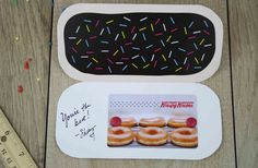 Donut Shape, Krispy Kreme, Free Gift Cards, Cool Websites, Card Holder, Shapes, Digital Nomad, Gifts, Presents