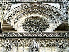 rosace de la Basilique st Michel-Bordeaux