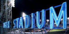 Tiger Stadium sign
