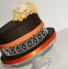 African Themed Birthday Cake  Cake by fiso