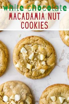I am absolutely obsessed with these delicious homemade white chocolate macadamia nut cookies! They have a slightly crisp exterior and a soft and chewy center with the most incredible sweet, buttery, toasty flavor. An easy and impressive cookie recipe that will have everyone coming back for seconds!