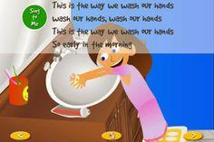 App para niños itouchilearn morning routines