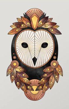 Wonderful owl artwork created byElisabeth Fredriksson. Owl Wall Art, Owl Artwork, Wall Art Crafts, Canvas Wall Art, Owl Graphic, Halloween Owl, Nature Posters, Halloween Illustration, Beautiful Owl