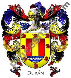 Escudo del apellido Durán