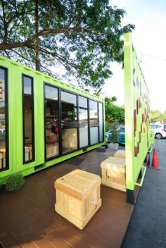 Container Cafe'   Container_Design