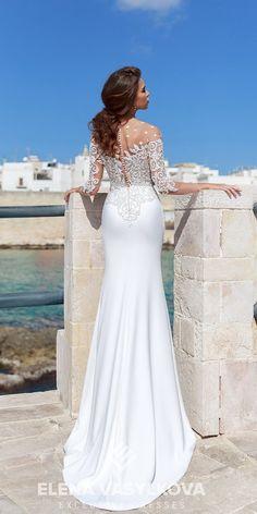 elena vasylkova wedding dresses 2018 trumpet with long sleeeves lace Wedding Dresses 2018, Wedding Dress Trends, Elegant Wedding Dress, Wedding Ideas, Modern Fashion, Wedding Bells, Bridal Gowns, Bride, Trumpet