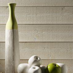 lambris bois sapin brut de sciage blanc artens 205x13cm ep 12mm leroy merlin