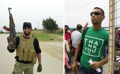 ÚLTIMA HORA - Terrorista do estado islâmico foi fotografado na Macedónia passando como refigiado   Luso Jornal 2015