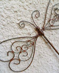 Nuevos modelos de libélulas para colgar     realizadas artesanalmente en hierro                      todos los modelos tienen muchos detal...