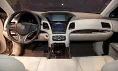 2013 Acura RLX interior  2 LCD screens! awesome.