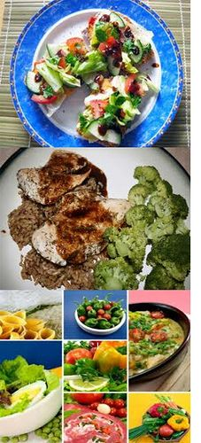 Just go through here, if you want to check out for healthy easy recipes that can be quickly made and served.  www.healthyrecipestaste.com    healthy dinner recipes