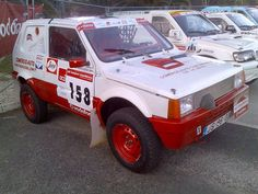 Fiat Panda 4x4 off-road Race