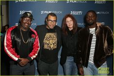 """❣︎catherine keener❣︎ on Instagram: """"Our favorite girl with Daniel Kaluuya, Lil Rel Howery, and Jordan Peele, promoting """"Get Out""""! I loved that movie so, SO much omg and I…"""" Jordan Peele, Ashley Benson, Getting Out, Promotion, Jordans, Bomber Jacket, My Love, Movies, Instagram"""