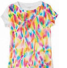 tie-die t-shirts