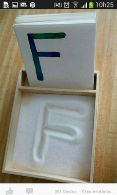 19 Ridiculously Simple DIYs Every Elementary School Teacher Should Know 19 Ridiculously Simple DIYs Every Elementary School Teacher Should Know,Learning activities DIY salt tray with alphabet cards. Easy to make and kids have fun. Toddler Learning Activities, Montessori Activities, Alphabet Activities, Fun Learning, Fun Activities, Teaching Kids, Educational Activities, Preschool Ideas, Kinesthetic Learning