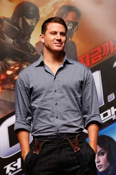 He may be expecting his first child but we can still lust after the amazing Channing Tatum.