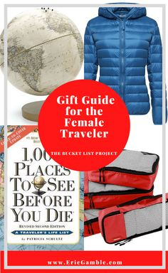 Whether you are looking for something for the woman who wants nothing, need an idea for your wife or loved one or are looking for gift ideas for yourself – this gift guide for the female traveler has you covered! A wide range of gifts from traveling in comfort to enjoying time with family and feeding your bucket list wanderlust. This gift guide has something for everyone and every budget. #GiftGuide #bucketlist #travel #femaletravel #holidaygiftguide #gifts Teenage Girl Gifts Christmas, Cheap Christmas Gifts, Best Travel Gifts, Best Gifts, Adventure Bucket List, Worldwide Travel, Travel Toiletries, Unique Gifts For Her, Holiday Gift Guide
