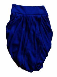 BCBGMAXAZRIA BCBG Cobal Blue Tulip Wrap Pencil Skirt BCBGMAXAZRIA. $84.00
