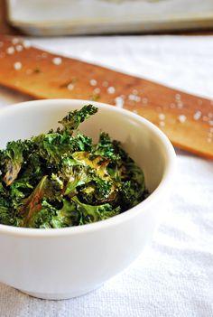 Kale Chips | Sabores de mi Huerto