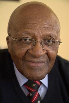 Desmond Tutu, 1931 former S. Desmond Tutu, Kim Dae Jung, Inspirer Les Gens, Steve Biko, Linus Pauling, Henry Kissinger, Elie Wiesel, Nobel Peace Prize, Dibujo