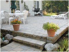 Stone Patio Designs | Stone Patio