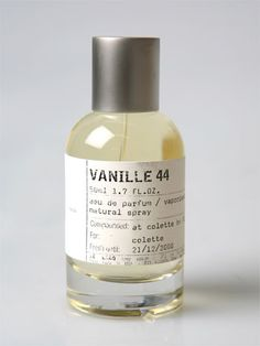 Le Labo Vanille 44. This perfume is $500.00 but it is the best perfume and one day ill have a full bottle ! Maybe.