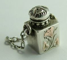 Perfume Bottle that opens - Sandy's Vintage Charm...